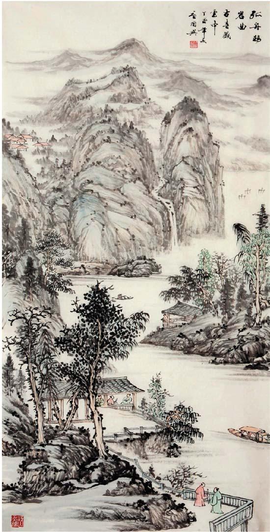 新安江水电站的名声在外,当年建成后,许多年画家们纷纷慕名而至