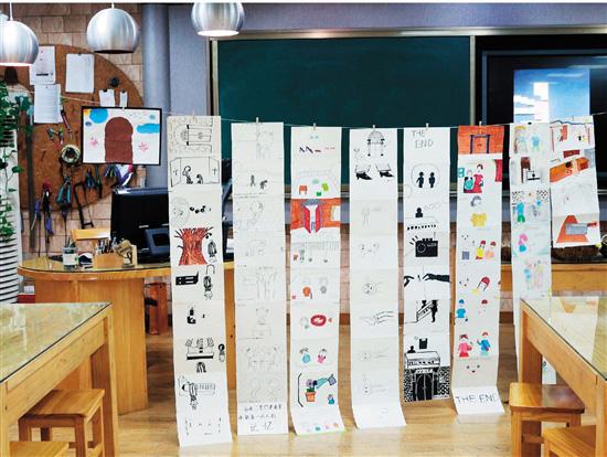 视觉艺术单元课程·教学实践·绘本创作