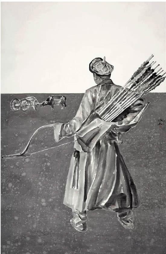 """""""岭头看云——莫晓卫中国画展""""将于12月在兰溪市博物馆举办"""