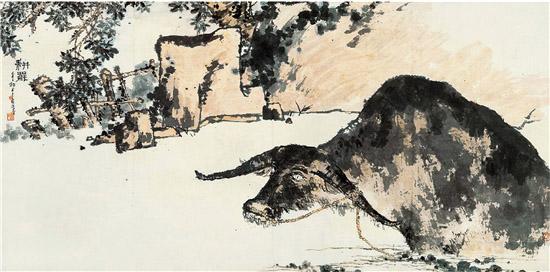 """中国画大师潘天寿""""振兴民族艺术,与振兴民族精神有密切关系"""""""