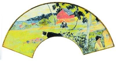 折扇在宋元近三百年的过程中,并没有留下任何一件名家作品