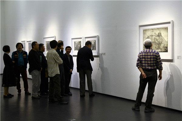 """""""共同的语言——国际版画邀请展""""在中国版画博物馆开幕"""