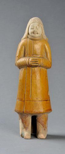 河南省文物考古研究所出土了众多唐代各时期陶塑精品