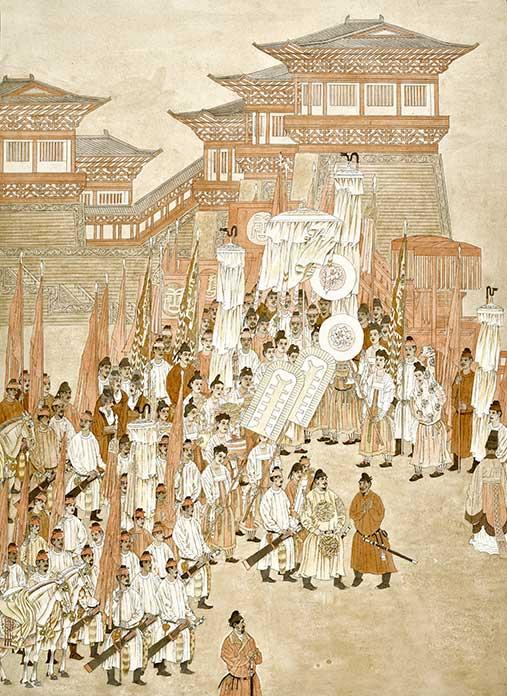 杨晓阳、刘永杰创作的《唐太宗纳谏》,史实表现准确