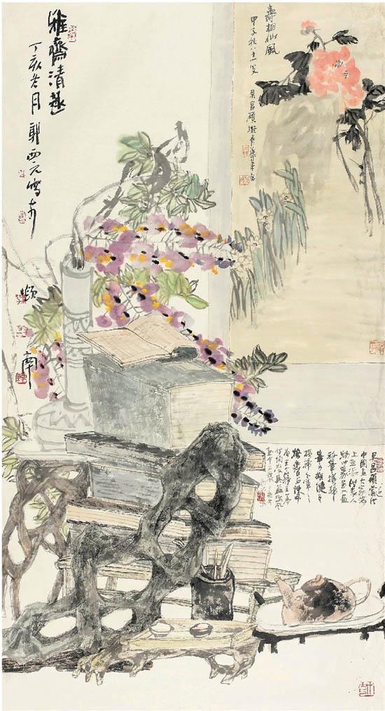 郭西元艺术展在深圳美术馆展出