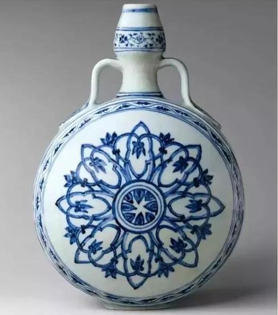 美国纽约大都会博物馆所收藏的中国历代瓷器应有尽有