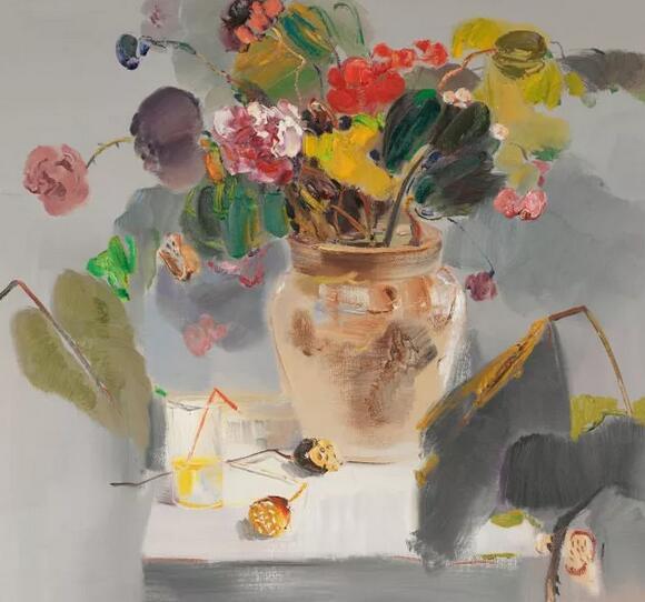 陈旭光谈徐里油画中的抽象与移情