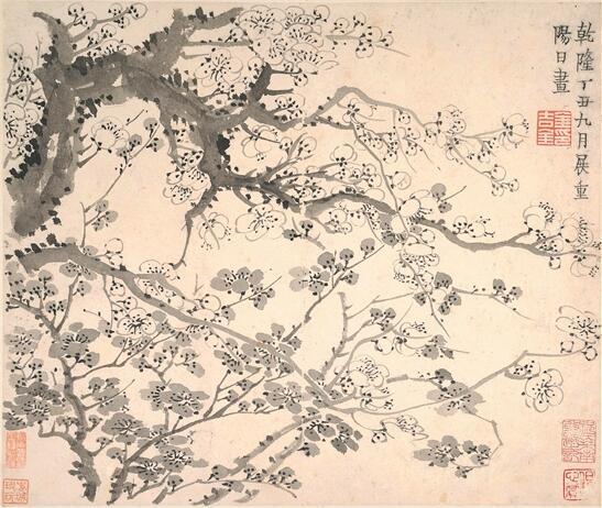 文人喜爱梅花,认为它是不屈精神与高雅情怀的象征
