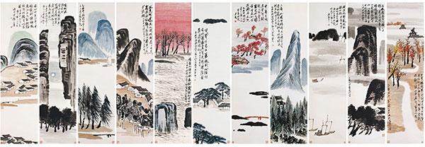 齐白石是近代最有创造性的大写意花鸟画大师