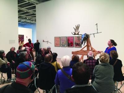 惠特尼美国艺术博物馆内针对视力障碍者的ACCESS教育活动