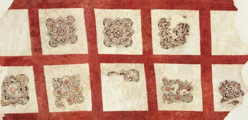 中国古代壁画曾经有着辉煌的历史  令人叹为观止