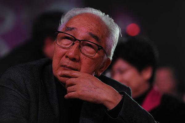 中国美术界的老中青三代艺术家出席 百花迎春 活动
