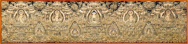 唐卡作为传统文化中的文化艺术瑰宝    近年来得到迅速发展