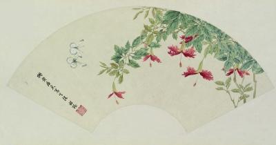 广州艺术博物院藏容祖椿百花画展在广州艺术博物院开幕