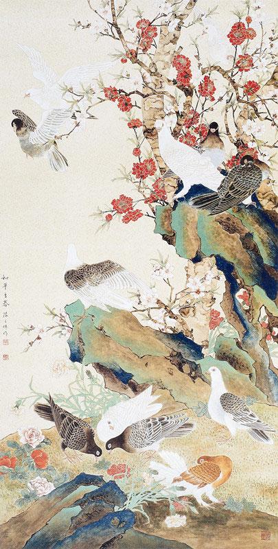 和平之春 作者:陈之佛