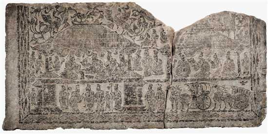 徐州地区最具代表性汉画像石之一