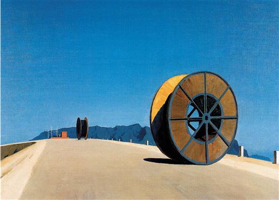 韦启美 新线 油画 1983年