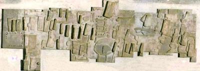 遗址北区墓葬分布图