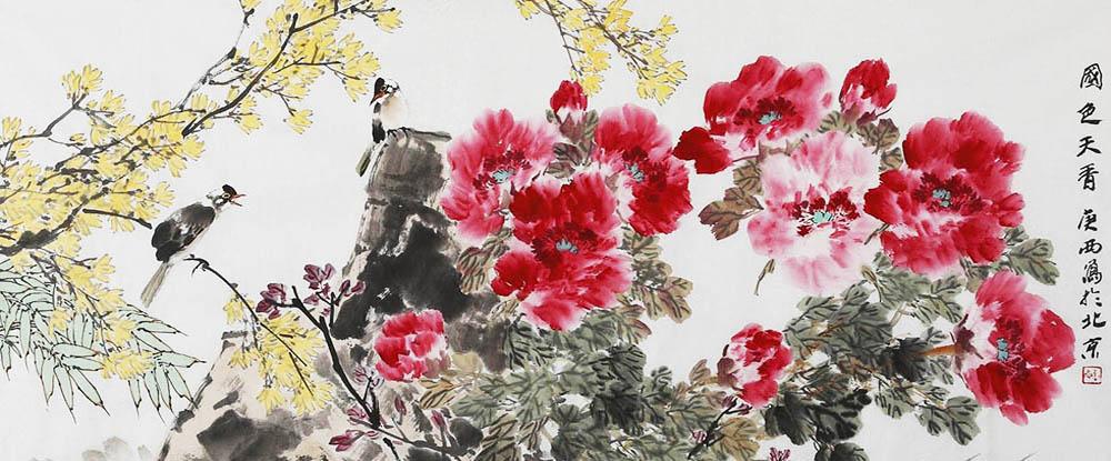 詹庚西中国画作品网上展厅