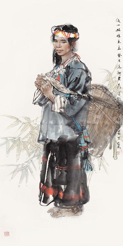 刘大为《佤山姑娘》