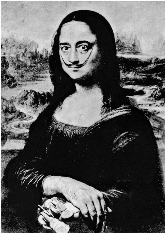 萨尔瓦多·达利(西班牙) 达利的胡须 17.7×14cm