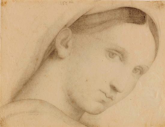 让·奥古斯特·多米尼克·安格尔 椅子上的圣母