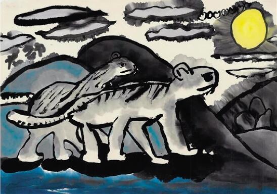 正文  每个孩子都是小小艺术家,涂涂画画是他们的天性,是他们内心世界