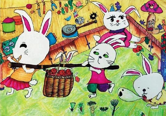 儿童节水墨绘天真 看孩子们的童心童趣