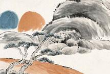 赏齐白石的山水画境白石老人的山水画创作构图奇简,没有复杂的皴擦点染,也没有平铺细抹的死功夫。用笔简洁凝重、用色明艳单纯,于拙处可见真意,于简处能现画境——令人赏之回味无穷。【详细】