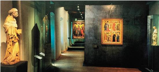 圣艾格尼丝修道院内部展厅