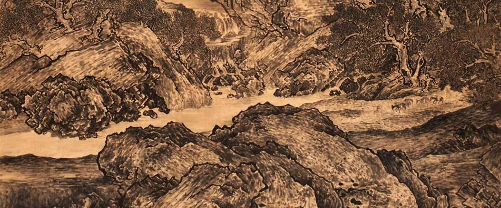 范宽中国画作品网上展厅