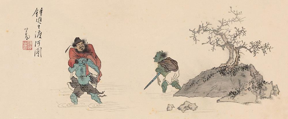 溥心畬中国画作品网上展厅