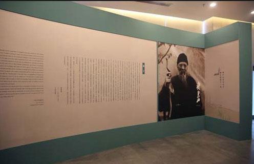 北京画院《胸中山水奇天下――齐白石笔下的山水意境之二》展览现场