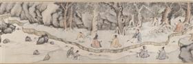明钱榖《兰亭修禊图》卷,美国大都会艺术博物馆藏