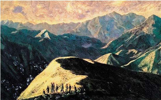 中越两国 磨漆画艺术交流
