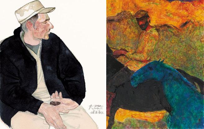 质朴的精神 陈坚水彩作品展在中国美术馆举办