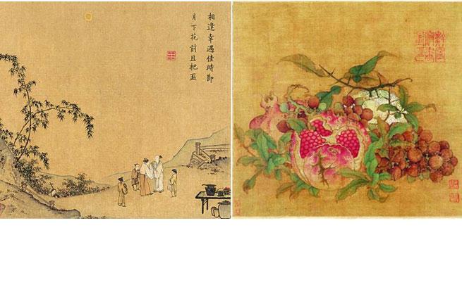 明月清辉映丹青——美术作品里的中秋