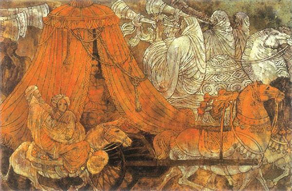 杨晓阳作品《波斯新娘》