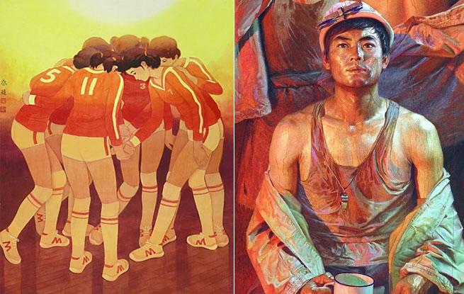 中国美术馆典藏精品 展示改革开放40年中国艺术新篇章