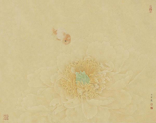 漾·2018-3 纸本设色 60x75.5cm
