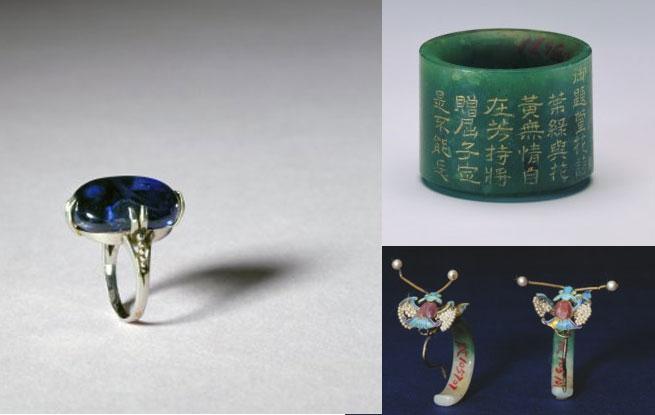 北京故宫藏清代首饰精品欣赏