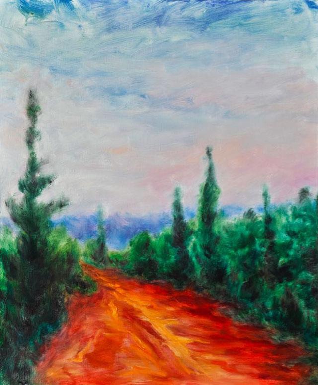《红色之路》2007年作品