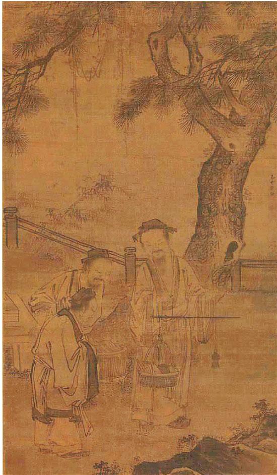 明 郭诩 秤书图 美国大都会博物馆藏