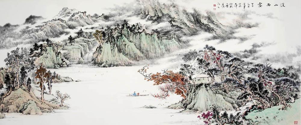 姜金军中国画作品网上展厅