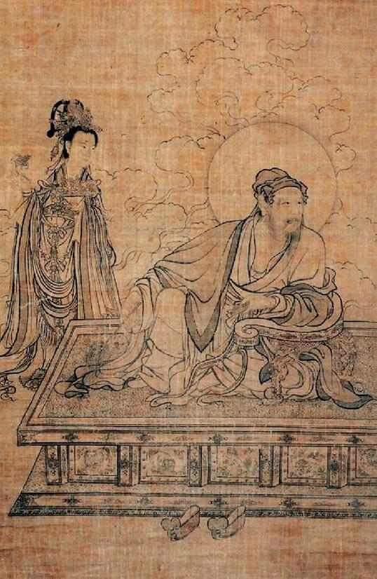 """无论是永乐宫壁画以道家题材表达了图理卦象的""""理""""之""""经营位置"""",还是图片"""