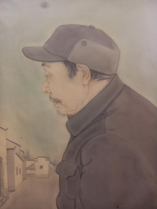 """河南大学美术学院美术教育专业学生王素召工笔人物画""""写生-创作""""课堂作业"""