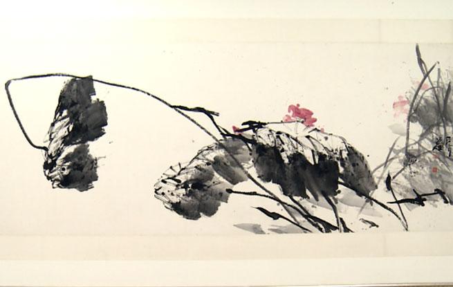"""大写意花鸟画家张立辰:笔、墨、纸在绘画中的""""讲究""""(视频)"""