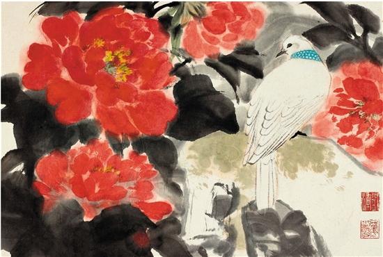 花开幸福年——深圳美术馆馆藏花卉题材迎春作品展