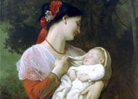 赏中外名画中的母爱情怀
