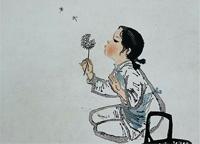 """美术中祖国""""花朵""""的幸福生活"""